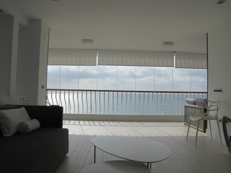 vista de la terraza al mar