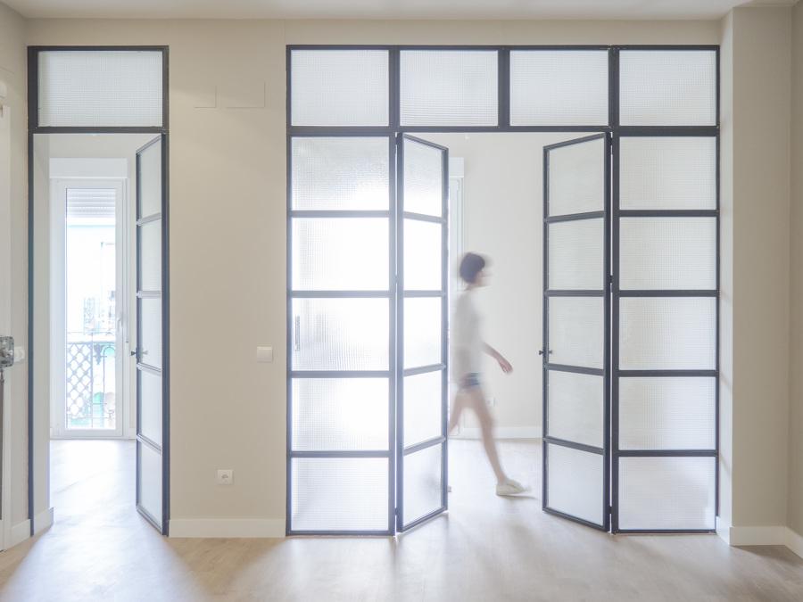 vista de las habitaciones