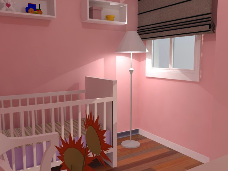 Vista del dormitorio infantil