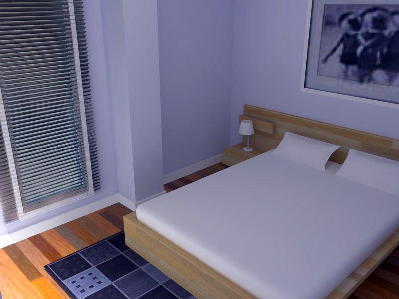 Vista del dormitorio principal
