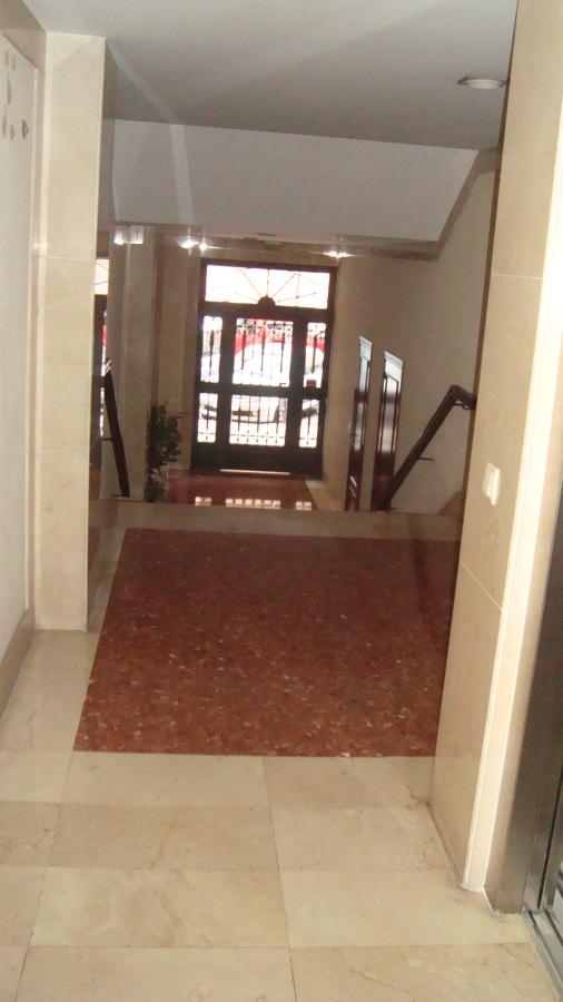 Vista desde el ascensor antes de la obra