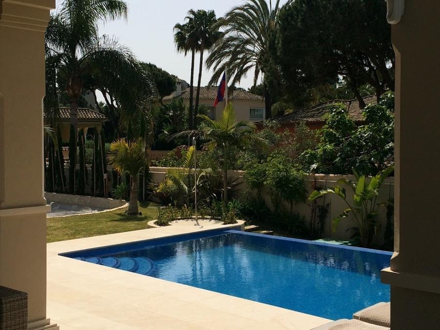 Vista desde el Porche en Marbella
