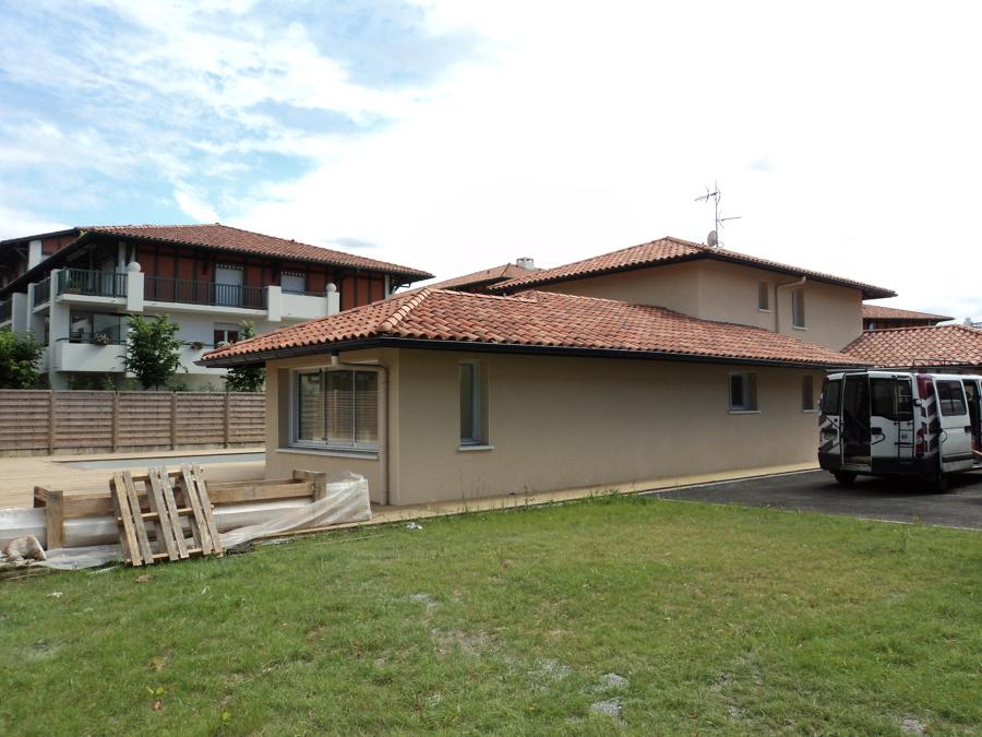 Casa nueva ciboure francia ideas construcci n casas - Ideas casa nueva ...