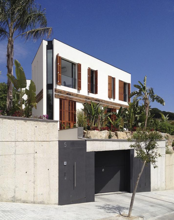 Vista desde la calle - Casa A | 08023 Arquitectos - Barcelona
