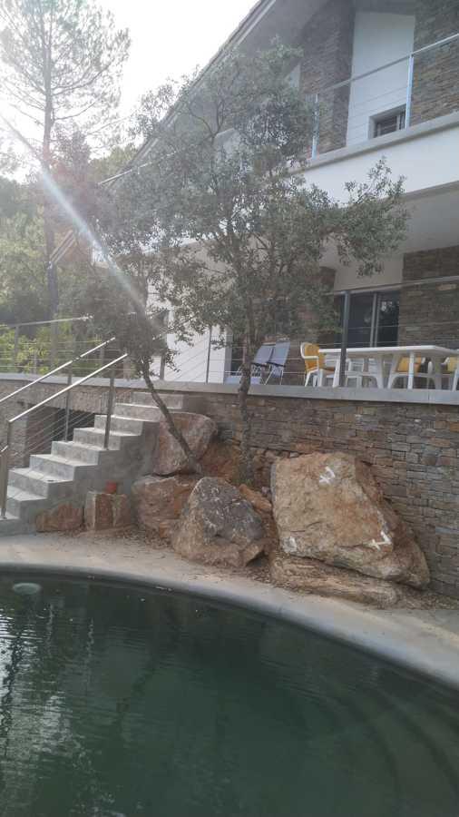Vista desde la piscina.