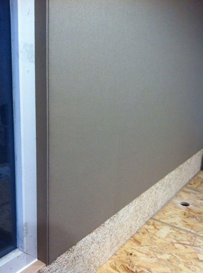 Vista detalle pared lateral