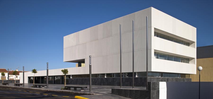Vista edificio de oficinas