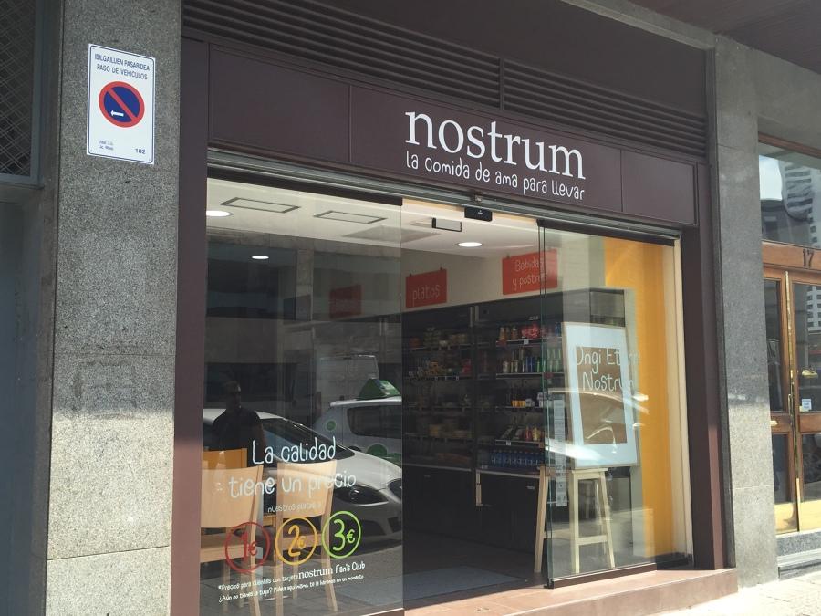 Nostrum en bilbao ideas reformas locales comerciales - Vinotecas en bilbao ...