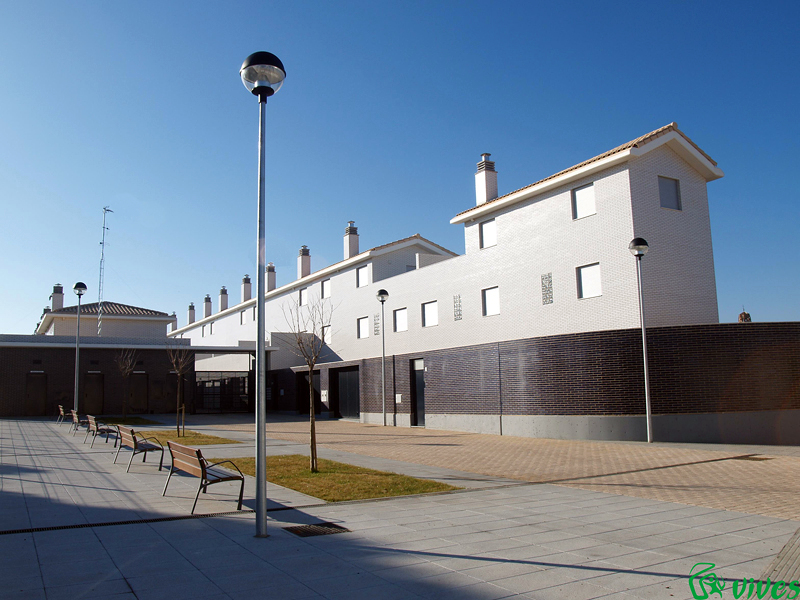 Vista exterior de la promoción en Utebo (Zaragoza)