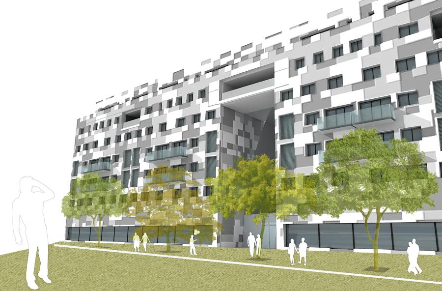 Edificio de viviendas en burriana valencia ideas for Exterior edificios