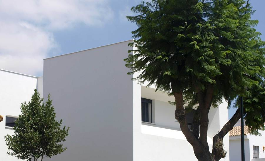 Vista fachada