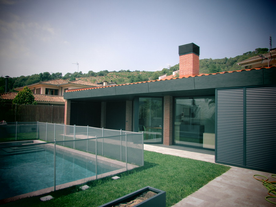 Construcci n vivienda unifamiliar martorelles ideas for Piscina martorelles