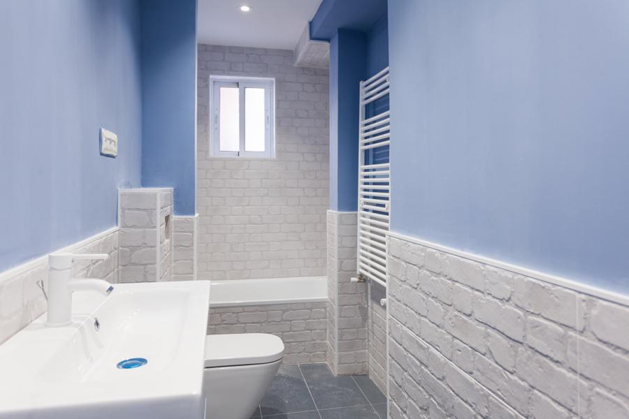Vista general baño