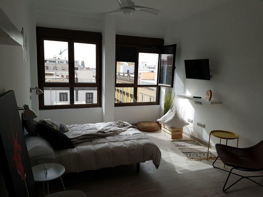 Vista general del apartamento