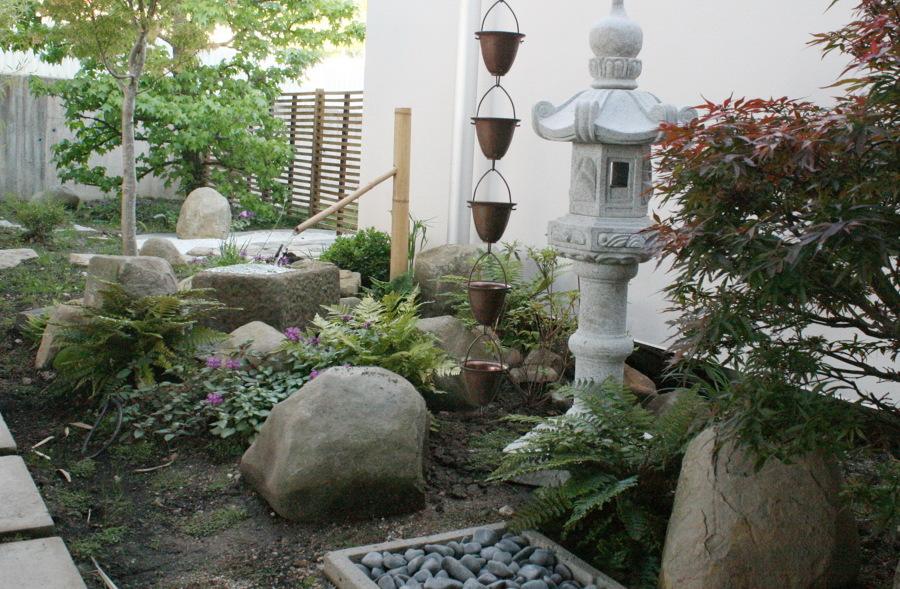 Vista general del jardin
