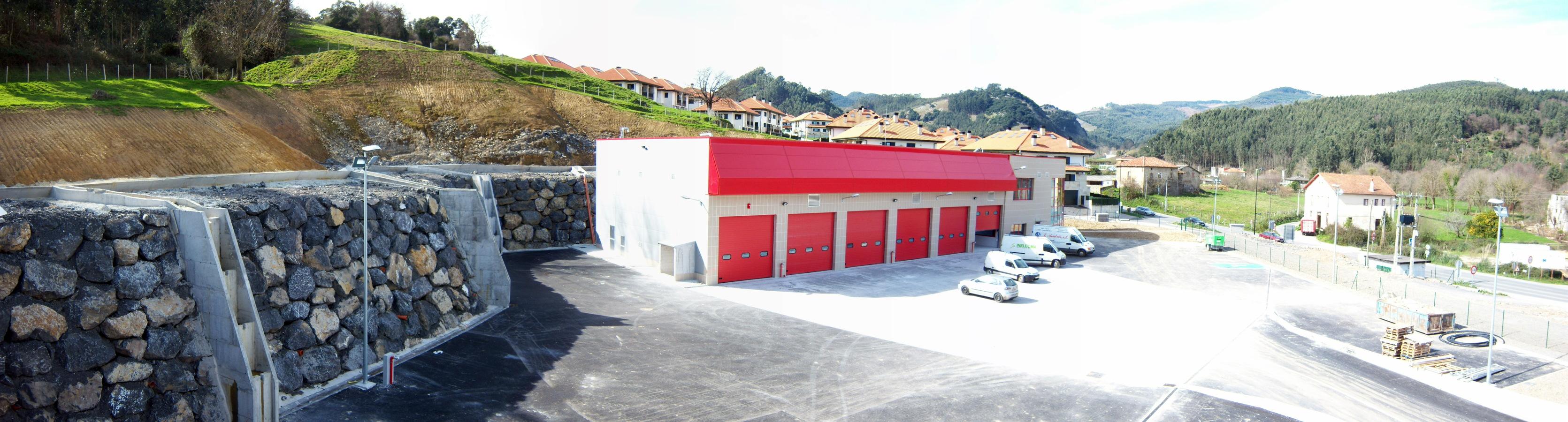 Vista general - Parque Emergencias de Castro Urdiales