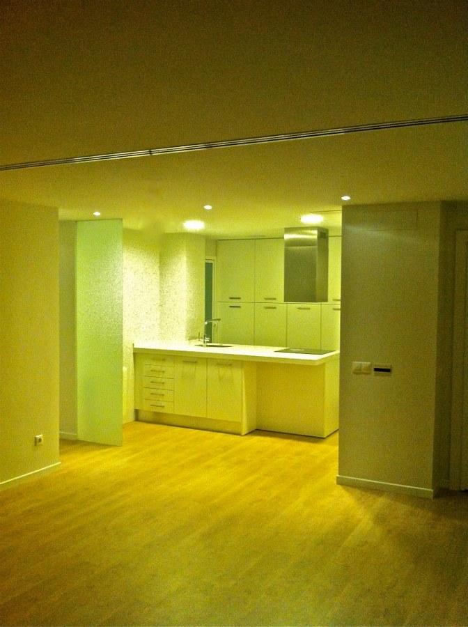 Vista general salon - cocina