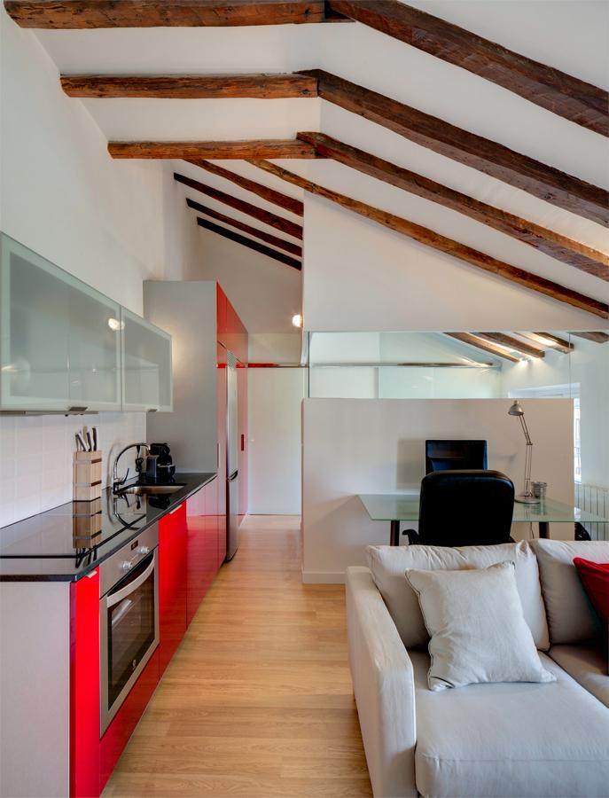 Espacios unificados cocina sal n comedor p gina 3 vogue - Cocina salon separados cristal ...