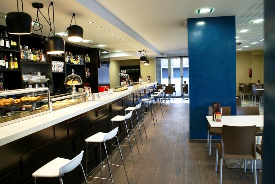 Vista interior de restaurante