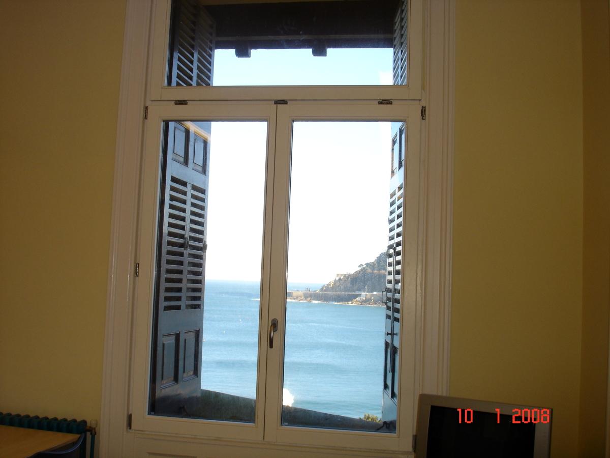 Vista interior desde el Palacio Miramar