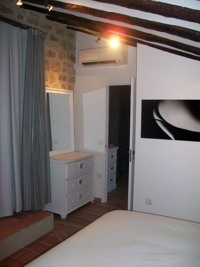 Vista interior. Habitación principal
