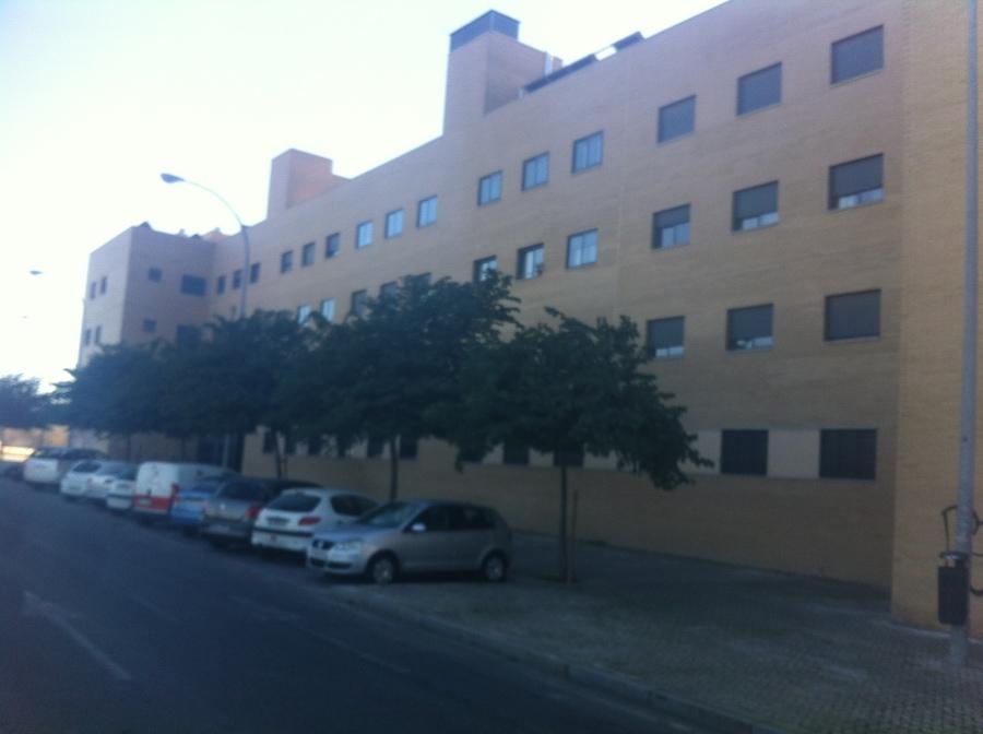 Vista lateral de fachada.