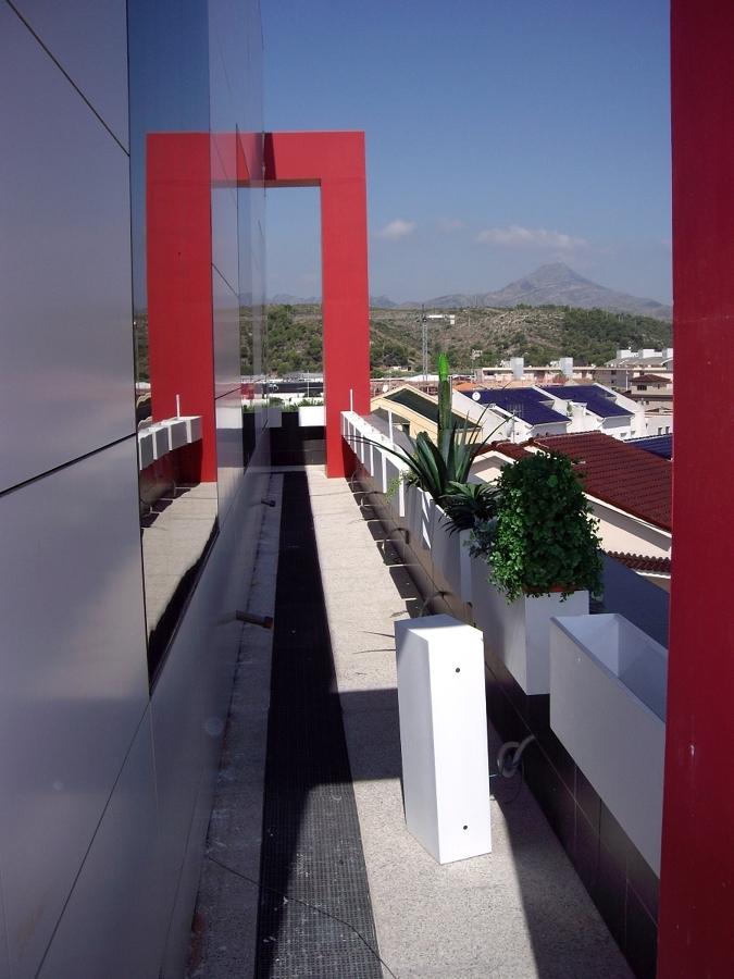 Vista planta oficinas