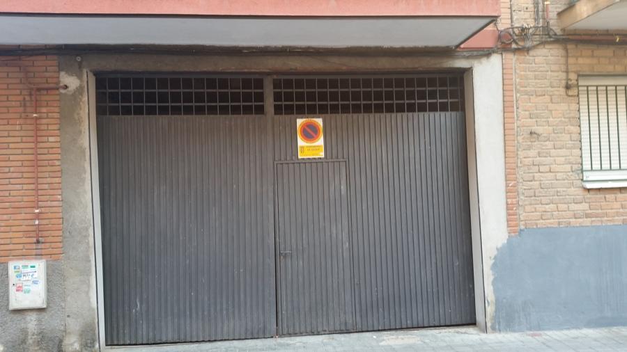 Vista puerta antigua