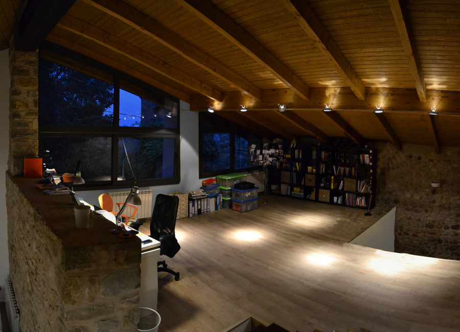 Vista sala de estudio