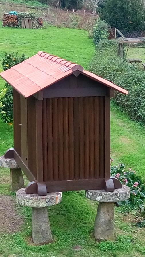Tejado h rreo y h rreo t pico gallego en madera ideas - Tejado madera ...