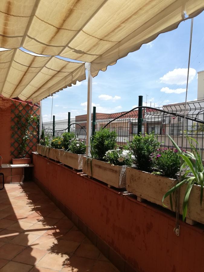 Vista terraza después del trabajo