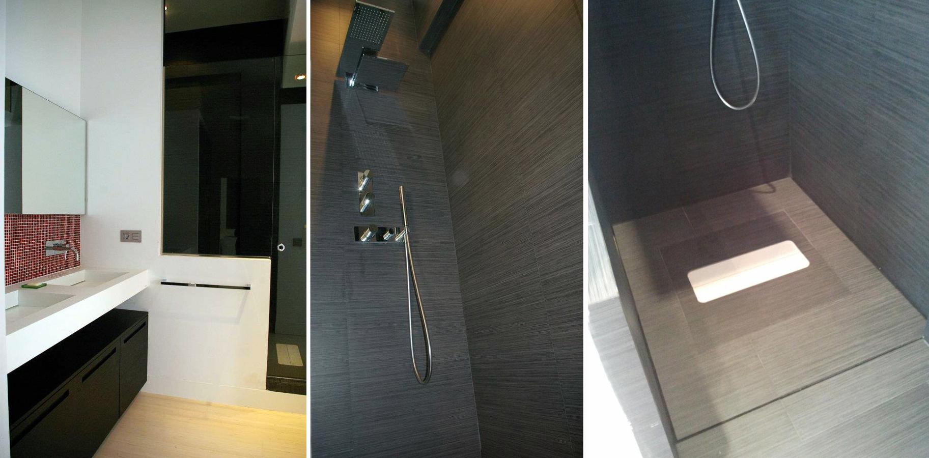 Vistas del cuarto de baño ppal.