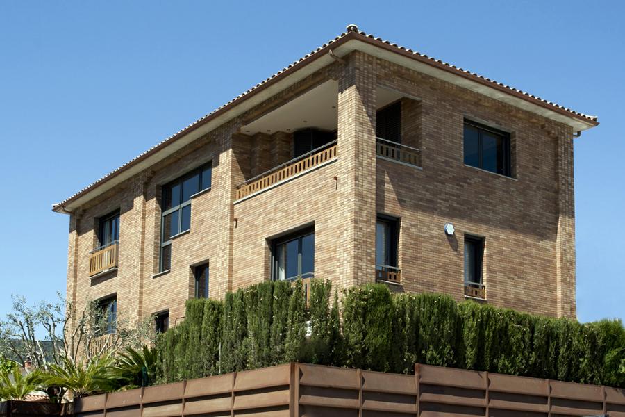 Vistas exteriores casa unifamiliar