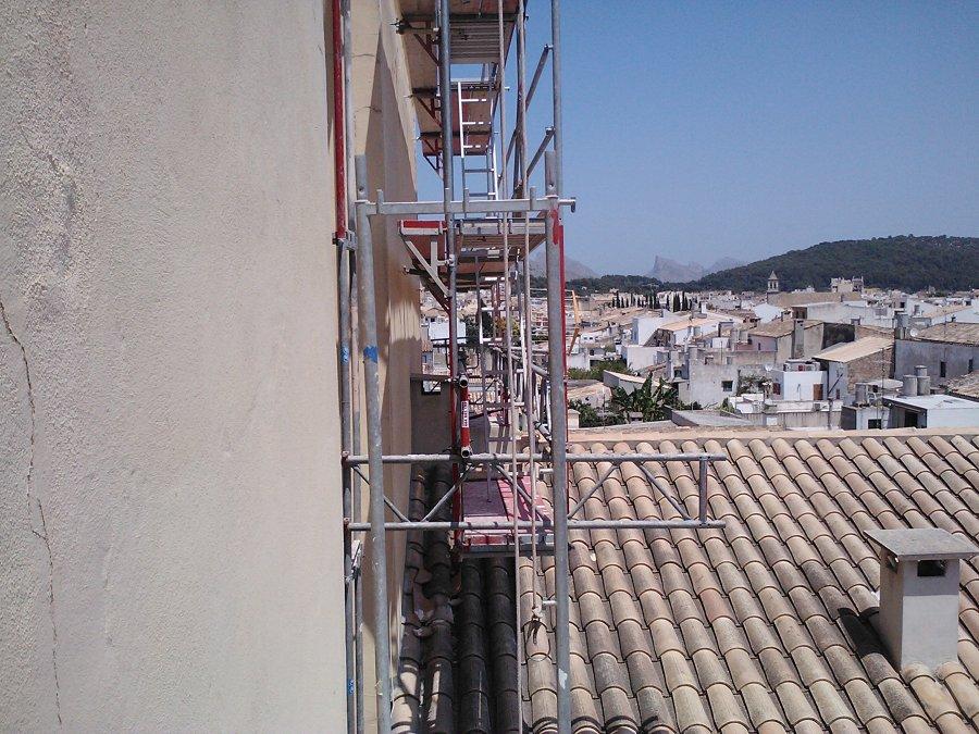 Lateral construcci n especial en mallorca ideas for Alquiler maquinaria mallorca