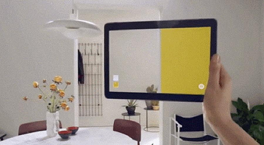 Previsualiza el color de tus paredes ideas art culos - Aplicacion colores paredes ...