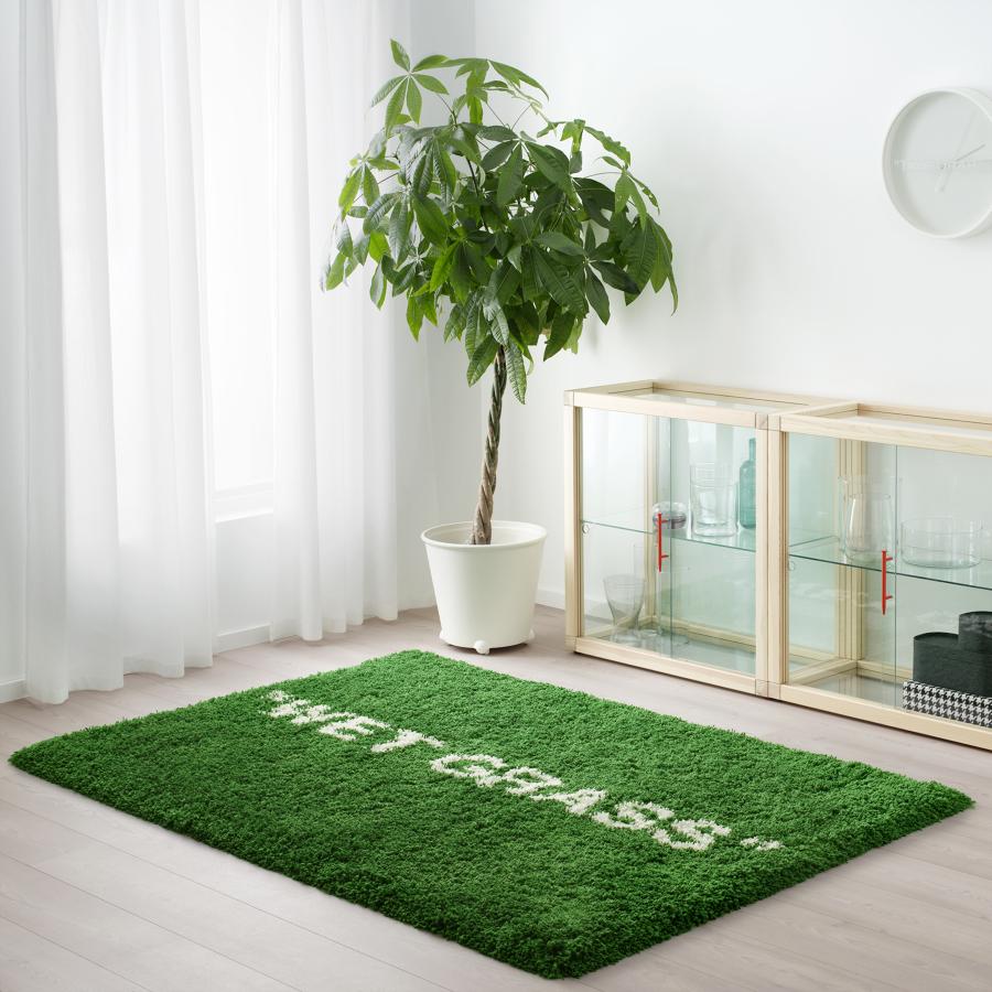 Vitrina, reloj y alfombra MARKERAD: La nueva colección limitada de IKEA