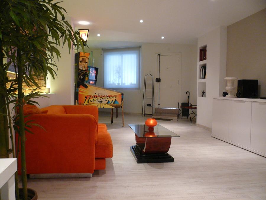 Lavado de cara a una vivienda ecl ctica en barcelona - Decoradores en barcelona ...