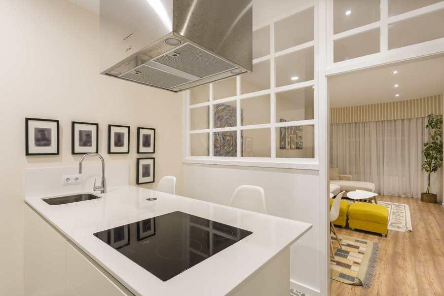 Una vivienda con decoraci n actual y cuidada ideas for Presupuesto reforma integral piso 80 metros