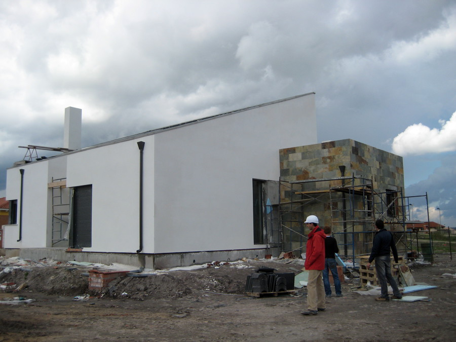 Foto vivienda unifamiliar aislada de arquitectos elsa - Arquitectos en soria ...