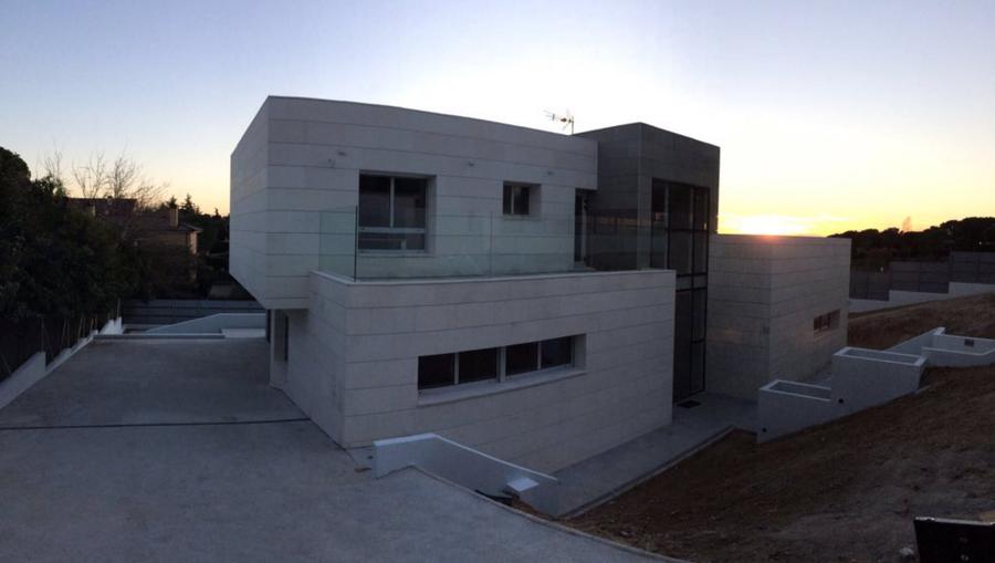 vivienda unifamiliar Boadilla del Monte, Madrid, arquitectura lujo.
