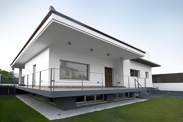 Foto vivienda unifamiliar de estilo moderno de vemax for Estilos de viviendas