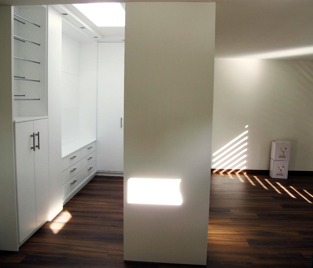 Vivienda Unifamiliar. Dormitorio-vestidor