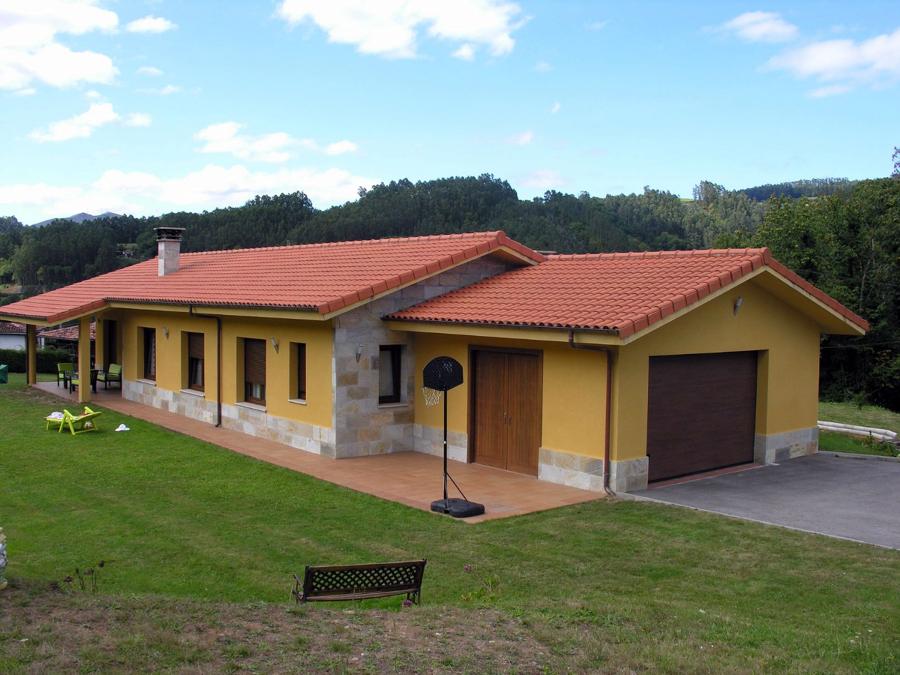 Casa unifamiliar en planta baja ideas construcci n casas - Casas planta baja modernas ...