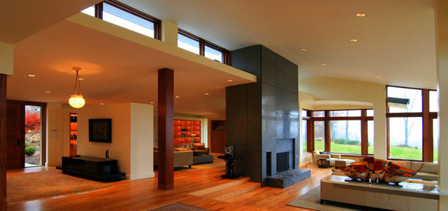 Vivienda unifamiliar moderna ideas construcci n casas - Viviendas unifamiliares modernas ...