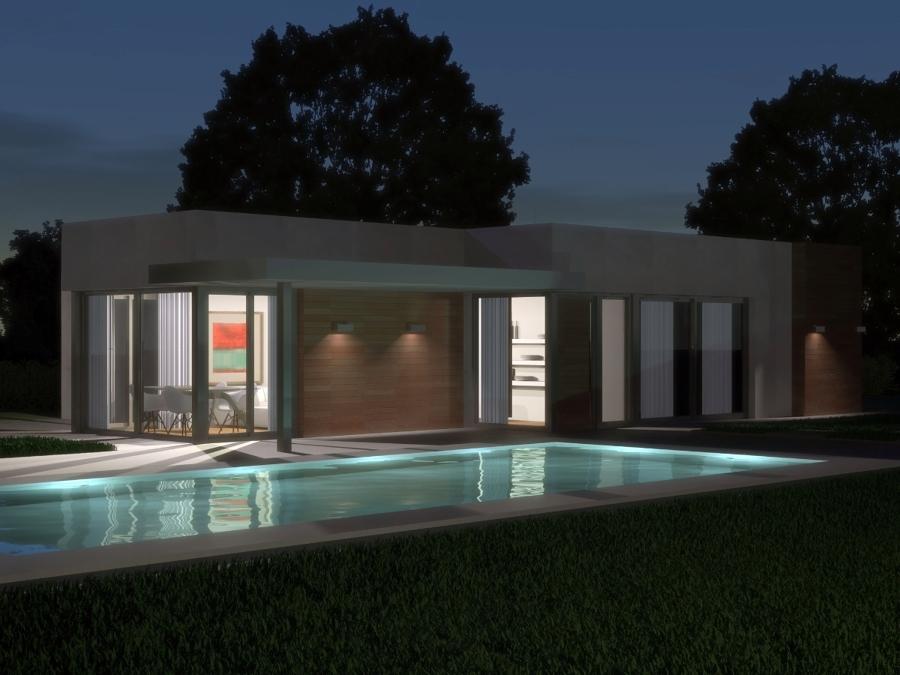 Vivienda unifamiliar UrbanHouse, 110 m2 - UH110/02
