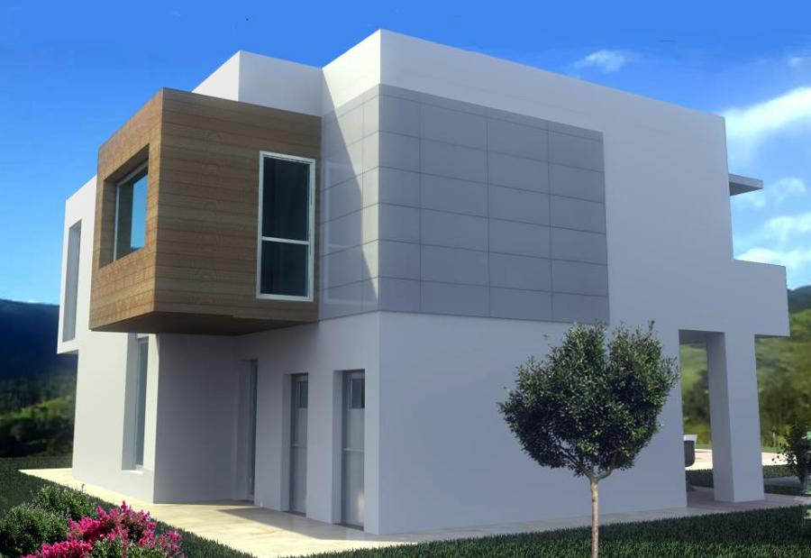 Vivienda unifamiliar urbanhouse 230 m3 ideas - Fachadas viviendas unifamiliares ...