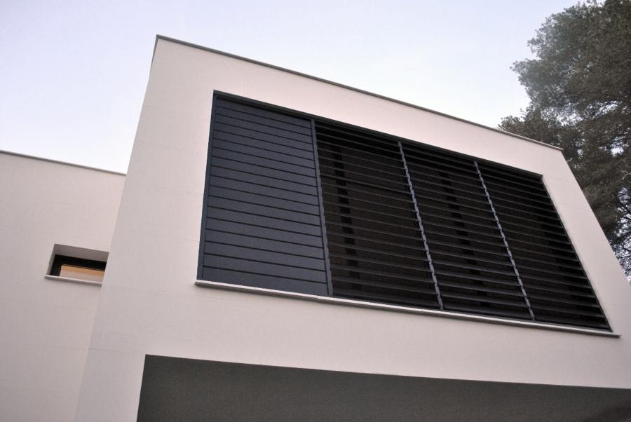 Foto vivienda unifamiliar ventanal de sans arquitectes - Sans arquitectes ...