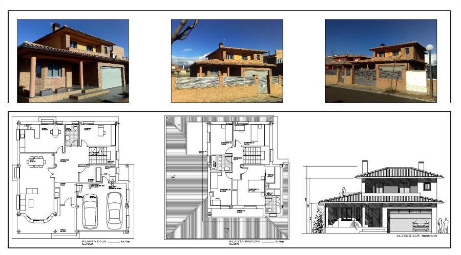 Vivienda unifamiliar ideas arquitectos - Arquitectos huesca ...