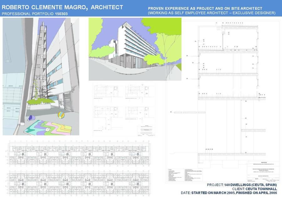Edificio de viviendas en ceuta ideas construcci n edificios - Fachada hormigon in situ ...