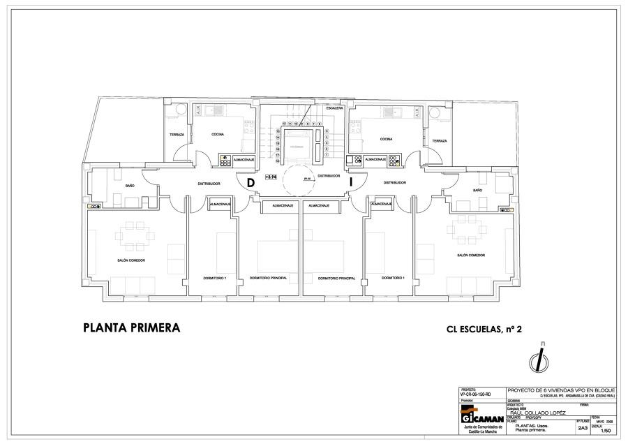 Viviendas  plurifamiliares en Argamasilla de Cva. - Ciudad Real